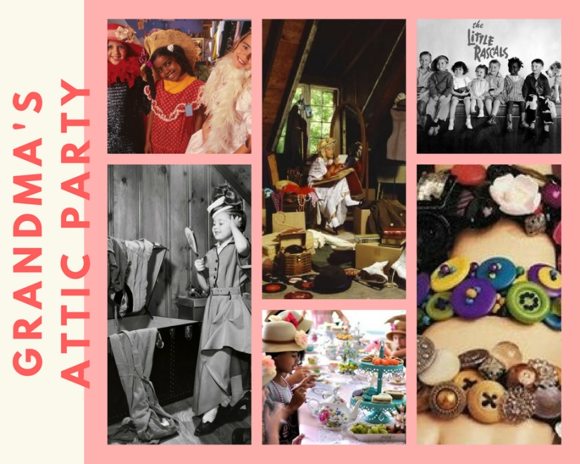 GRANDMA'S ATTIC PARTY