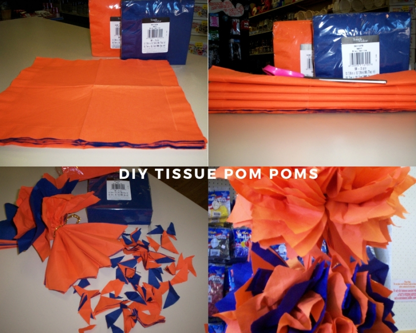 Napkin Tissue Pom Poms