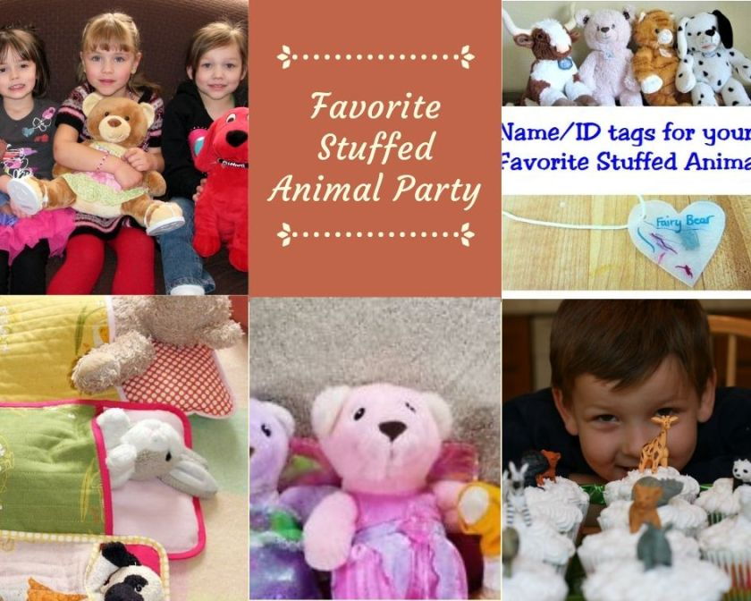 Stuffed Animal Party