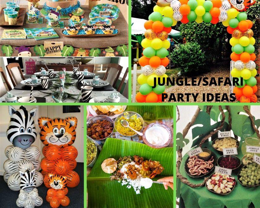 Jungle-Safari Party